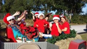 New Song Christmas Parade