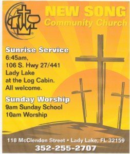 New Song Sunrise Service