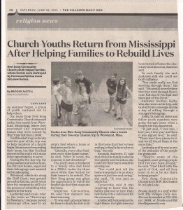 Sun Article NS Youth Trip