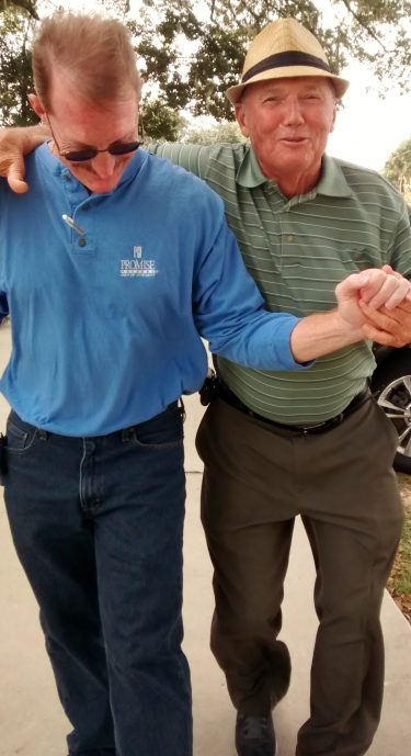 Greg Dodge and Don Miller doing the dance!